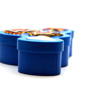 Bulk wholesale tin containers for food front show