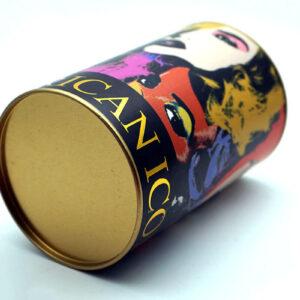 Customized Print Tin can bulk wholesale bottom show
