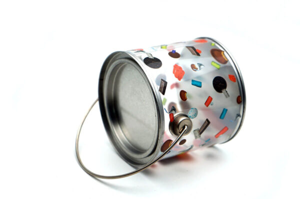 Customized cookie tin container bulk wholesale top show