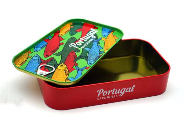 Customized tin can bulk wholesale open