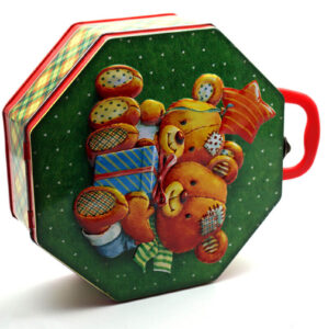 cookie box for christmas bulk wholesale front side show