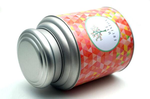 metal jars with lids bulk wholesale