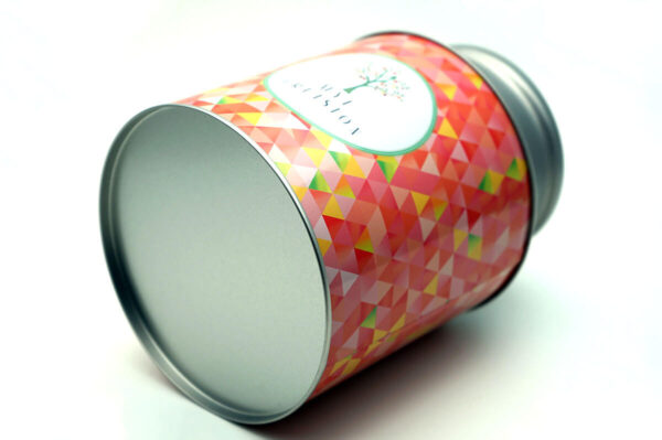metal jars with lids bulk wholesale show bottom