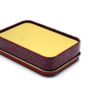 rectangle tin box bulk wholesale back show