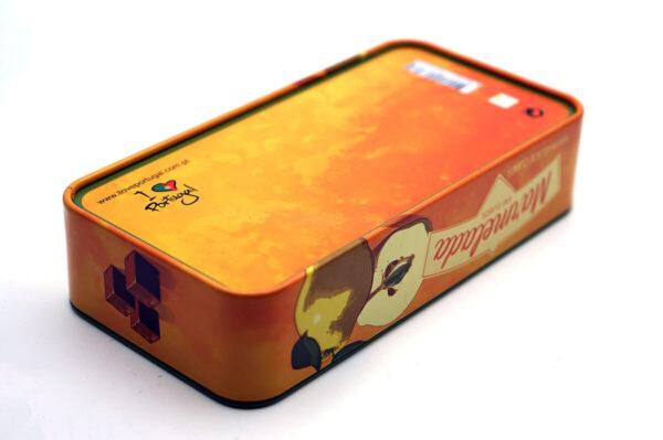 small rectangular metal tin for food bulk wholesale bottom show