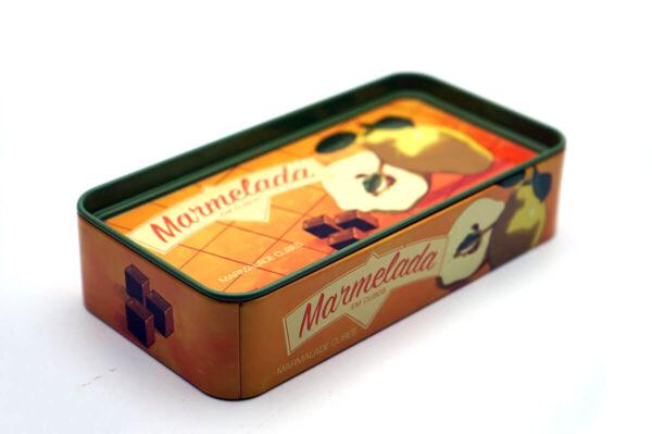 small rectangular metal tin for food bulk wholesale top show