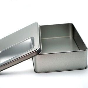 tin boxes for storage bulk wholesale open