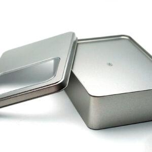 tin boxes for storage bulk wholesale show back